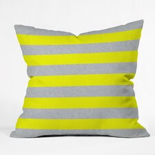 Boyles Bright Stripe Indoor/Outdoor Throw Pillow