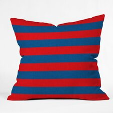 Flemings Rugby Stripe Outdoor Throw Pillow