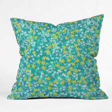 Dedmon Wild Daisies Indoor/Outdoor Throw Pillow