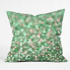 Barrientes Holiday Cheer Mint Indoor/Outdoor Throw Pillow