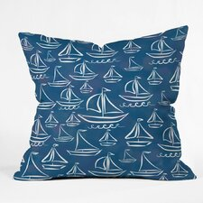 Boothby Sail Away Outdoor Throw Pillow