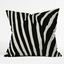 Caston Zebra Stripes Outdoor Throw Pillow