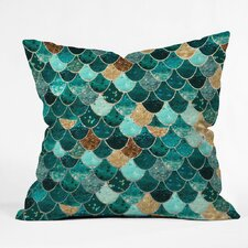 Granado Really Mermaid Outdoor Throw Pillow