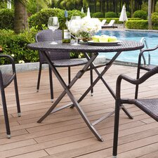 Wonderful Crosson Outdoor Wicker Dining Table