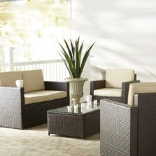 Crosson 5 Piece Deep Seating Group with Cushion