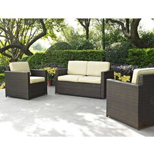 Crosson 3 Piece Deep Seating Group with Cushion