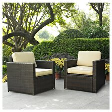 Find Crosson Deep Seating Group with Cushion (Set of 2)