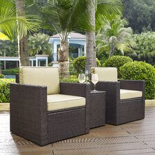 Great Reviews Crosson 3 Piece Deep Seating Group