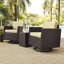 Crosson 3 Piece Deep Seating Group