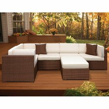 Lorentzen 6 Piece Deep Seating Group with Cushion