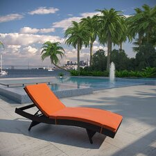 Ludwick Chaise Lounge with Cushion