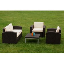 Great price Loggins 4 Piece Sofa Seating Group with Cushion