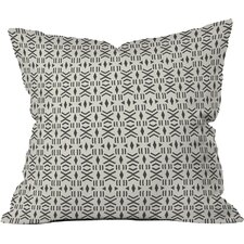 Balzer Geo Mudcloth Outdoor Throw Pillow
