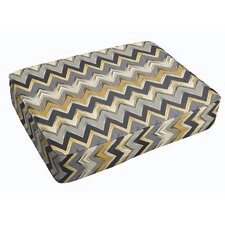 Murphree Chevron Corded Indoor/Outdoor Floor Cushion