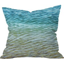 Meunier Ombre Sea Indoor/Outdoor Throw Pillow