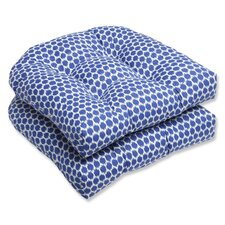 Eris Wicker Outdoor Seat Cushion (Set of 2)