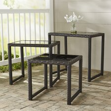 Llanos Quintin 3 Piece Nesting Table