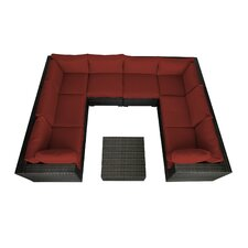 Lara 9 Piece Seating Group with Cushions