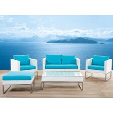 Jane Street 5 Piece Deep Seating Group with Cushions