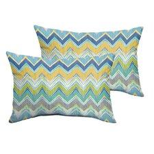 Odenton Indoor/Outdoor Lumbar Pillow (Set of 2)