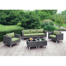 Namaka Outdoor 5 Piece Seating Group (Set of 7)