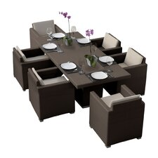 Spacial Price Westcott 7 Piece Dining Set with Cushions
