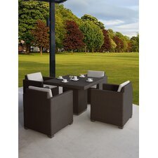 Westcott 5 Piece Dining Set with Cushions