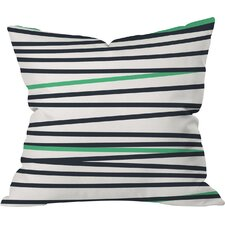 Banda Stripe Cool Indoor/Outdoor Throw Pillow