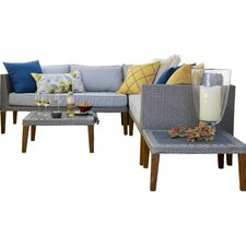 Nolita 5 Piece Sectional Seating Group with Cushion
