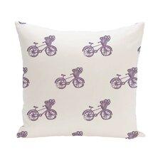 Chesser Geometric Print Outdoor Pillow