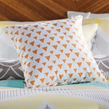 Mouton Glitter Triangles Outdoor Throw Pillow