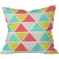 Ang Summer Triangles Indoor/outdoor Throw Pillow