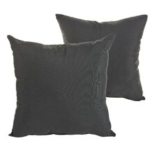 Savings Starks Indoor/Outdoor Sunbrella Throw Pillow (Set of 2)
