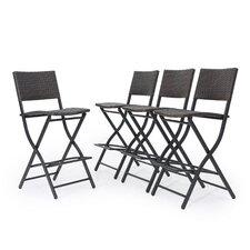 Comparison hickerson outdoor wicker 28 bar stool set of for Cheap bar stools set of 4