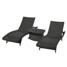 Penley 3 Piece Chaise Lounge Set