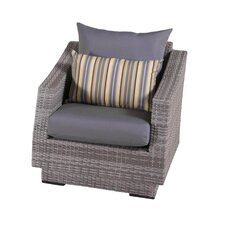 Alfonso Club Chairs with Cushions (Set of 2)