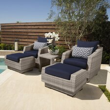 Alfonso 5 Piece Seating Group with Cushions