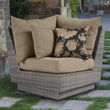 Alfonso Corner Chair with Cushion