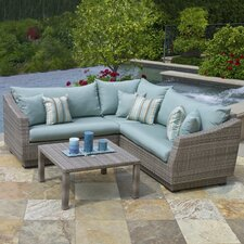 Alfonso 4 Piece Deep Seating Group