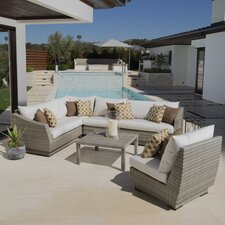 Alfonso 6 Piece Patio Seating Group