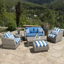 Alfonso 6 Piece Deep Seating Group with Cushion