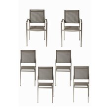 James 6 Piece Dining Chair Set (Set of 6)