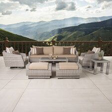 Greenfield Deluxe 8 Piece Deep Seating Group