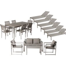 Lindquist 17 Piece Patio Set with Cushion
