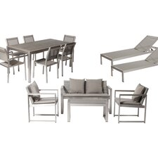 Lindquist 13 Piece Patio Set with Cushion