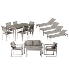 Lindquist 15 Piece Patio Set with Cushion