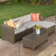 Great Reviews Chester 9 Piece Sectional Seating Group with Cushion