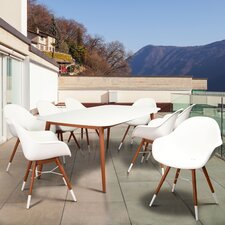 Milland Patio 9 Piece Dining Set