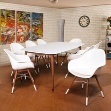 Milland 9 Piece Dining Set with Cushions