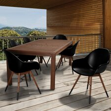 Great Reviews Milland Patio 7 Piece Dining Set